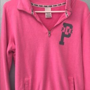 Pink Pullover Jacket